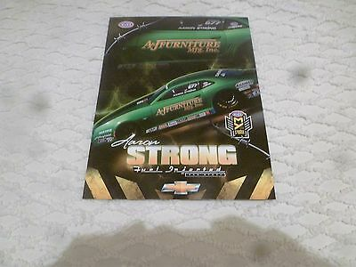Nhra Handout/photo Aaron Strong 2016' A & J Furniture Camaro Pro Stock