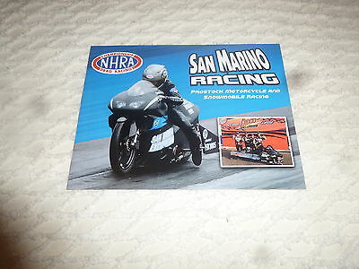 Nhra Handout/photo Brian Pretzel 2016' San Marino Pro Stock Bike