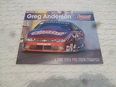 Nhra Handout/photo Greg Anderson 2016' Summit Racing Ps Camaro