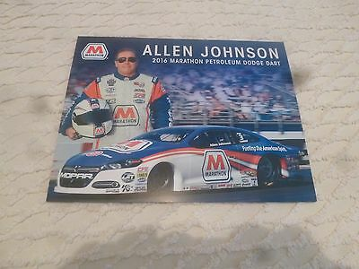 Nhra Handout/photo Allen Johnson 2016' Marathon Petroleum Dodge Dart Pro Stock