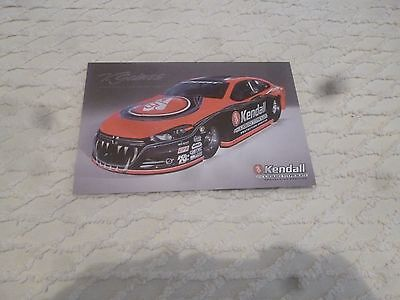 Nhra Handout/photo V Gaines 2016' Kendall Oil Dodge Dart Pro Stock