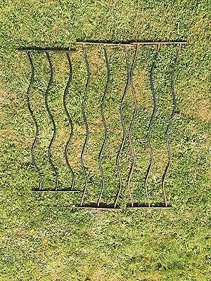 Wavy Wrought Iron Fencing For Decking