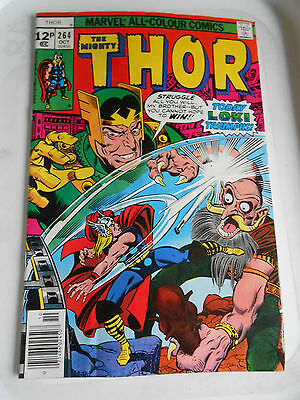 Mighty Thor #264 Oct 1977 VGC