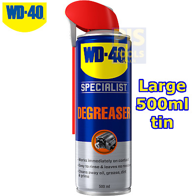 WD40 500ml fast acting degreaser ** Large can size WD-40 **