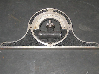 Vintage Brown & Sharpe Protractor Head With level