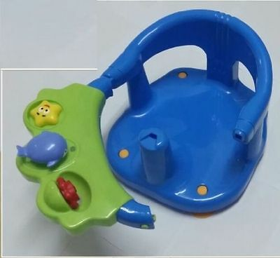 Baby Bath Ring Seat Tub Anti Slip Kids Safety Chair Non Toxic WATER SQUIRTS TOYS