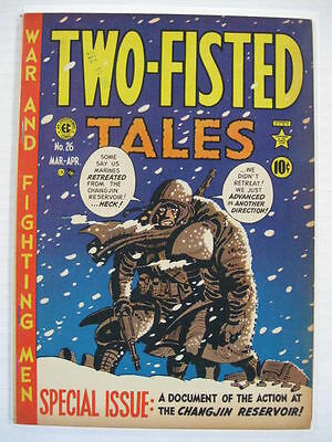 TWO FISTED TALES #26 FN Classic Kurtzman Cover