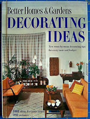 Better Homes and Gardens Decorating Ideas 1960 Hardcover Home Ideas 5th Edition