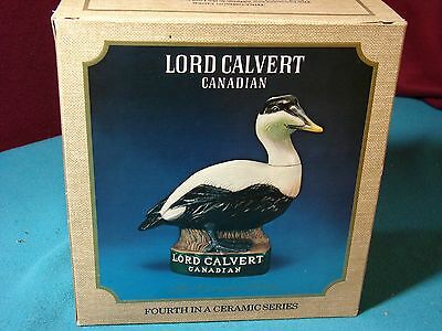 Lord Calvert Canadian Elder Duck Decanter