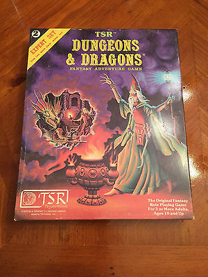 Dungeons And Dragons - Expert Rules - Box Set 2 - 1981 Version - TSR - D&D
