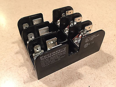 Bussman 30323R Fuse Holder 30A 600V 3 Phase Class Cc Fuses - New, No Packaging