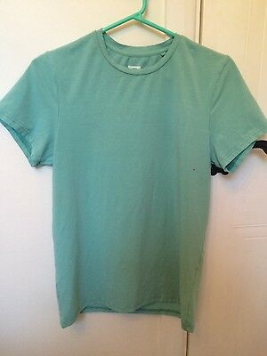 XMAS SALE! B-Boy NonBranded Mint Green Muscle Fit T-Shirt Size Medium Activewear