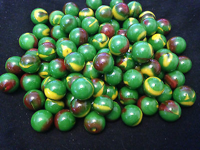 10 x 14mm Dragon HOM Glass Marbles Collectors or traditional game solitai