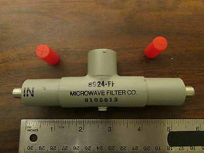 Microwave Filter Co. 8924-FF RF Filter Tunable NOS