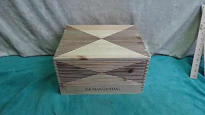 Ca' Marcanda Wood Wine Box With Lid