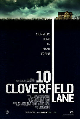 10 Cloverfield Lane Movie New A4 Poster Gloss Print Laminated