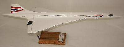 British Airways Concorde In Final Livery Large 1:100 Scale Model - Amazing