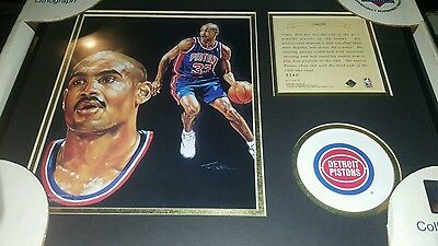 GRANT HILL Kelly Russell Lithograph Print Original Art LIMITED EDITION
