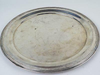 Vintage Silver Plate FB Rogers Silver On Copper Tray