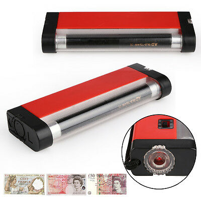 Portable Ultraviolet Currency Money Detector UV Light with Flashlight Torch