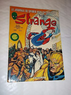 """STRANGE no 120"" (1979) MARVEL / LUG / DAREDEVIL / IRON MAN / SPIDERMAN"