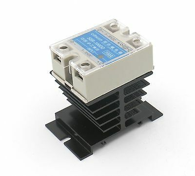 Baomain SSR-100DD 100A DC-DC 100A Solid State Relay Module 3-32VDC/5-80VDC + ...