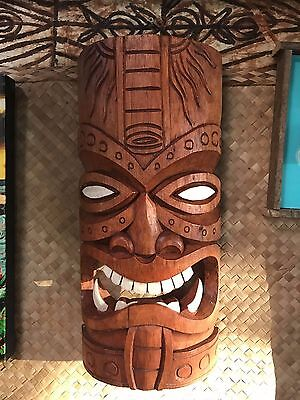 New Fang Tiki Mask Smokin' Tikis Hawaii 1211f