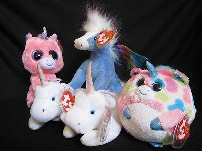 Ty Unicorn & Pegasus Bundle: 2 Mystic, Magic, Pegasus, and Fable