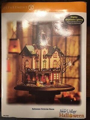 Department 56 Retired Halloween Victorian House Excellent