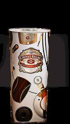 Chivas Regal Tin Box THE NEW LSTN LIMITED EDITION TIN 2016/2017 BOX ONLY