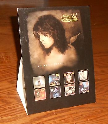 Ozzy Osbourne No More Tears Cardboard Display Poster 1991 Original Promo RARE