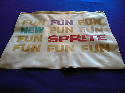 "RARE Austin Healey Sprite Dealer Salesman's Zippered Pouch ""New Fun Sprite"""