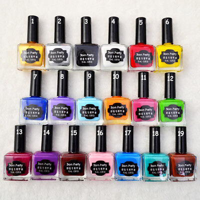 15ml Nail Art Born Pretty Stamping Polish Template Painting Varnish Manicure DIY
