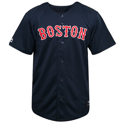 Boston Red Sox Majestic MLB Replica Baseball Jersey - Navy
