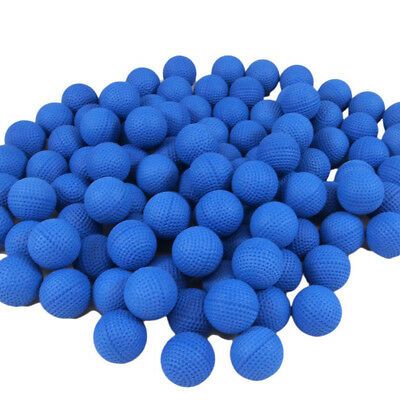 100Pcs Bullet Balls Rounds Compatible For Nerf Rival Apollo Toy Gun Refill Blue