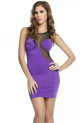 Logan Floating Cup Illusion Dress Forplay 4 Colours