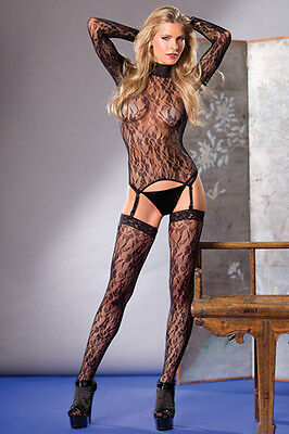 Be Wicked Body Stocking One Size and Queen