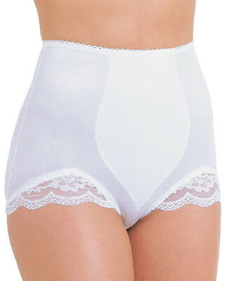 Rago Shapewear Panty Brief Light Shaping White Small to 6X