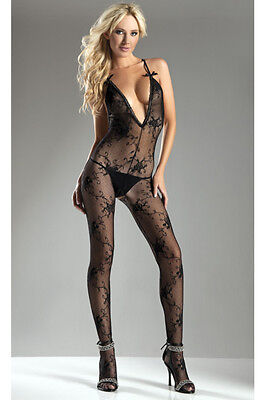 Halter-top Body Stocking One Size and Queen