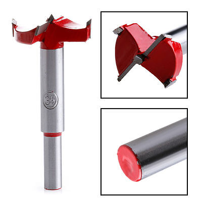 35mm Drill Bits Professional Forstner Woodworking Hole Saw Cutter