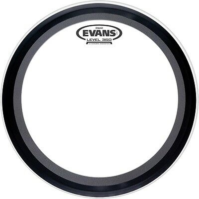 Evans EMAD Clear Batter Bass Drumhead  24 in.