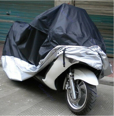XXL Waterproof Outdoor UV Protector Motorbike Rain Dust Bike Motorcycle Cover