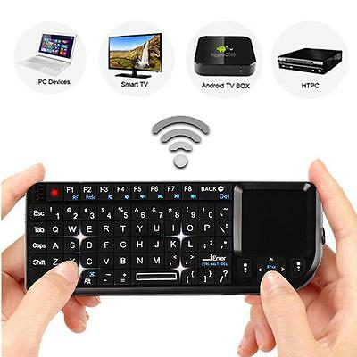 Sale 2.4G Mini Wireless Keyboard Mouse Touchpad For PC Android Smart TV BOX EN
