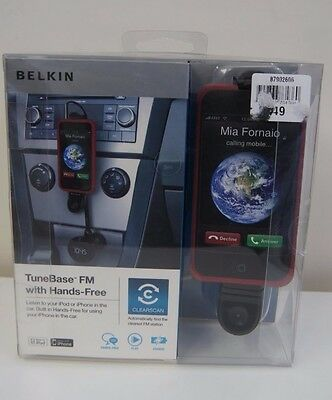 Belkin TuneBase FM with Handsfree for iPhone 4 4s, 3/3GS