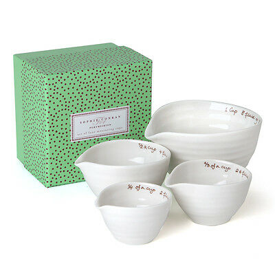 NEW Portmeirion Sophie Conran Measuring Cup Set 4pce