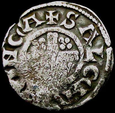 S404: Henry III Medieval Hammered Silver Voided Cross Penny - SALEMVN.ON.CA