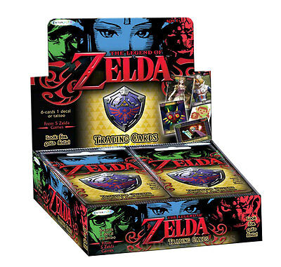 The Legend of Zelda: Trading Card Collection - Booster Display - 24 Packs - OVP!