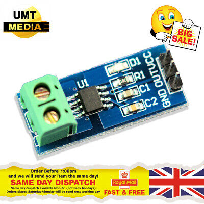 5A 20A 30A ACS712 Module Measuring Range Current Sensor Hall Board Arduino PI