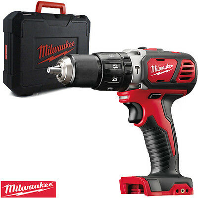 Milwaukee M18BPD-0 18V Li-ion Combi Hammer  Drill With Case