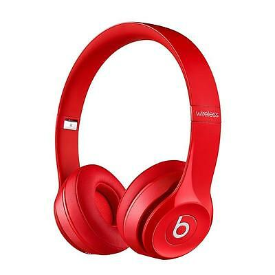 Beats by Dr. Dre Solo 2 Wireless Red, Cuffie Bluetooth